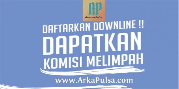 Cara Mencari & Mendaftarkan Downline di Server Arkana Pulsa CV Sinar Surya Suryandaru Blora
