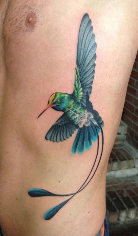 Tattoos Of Humming Bird Hummingbird Tattoo Designs Male