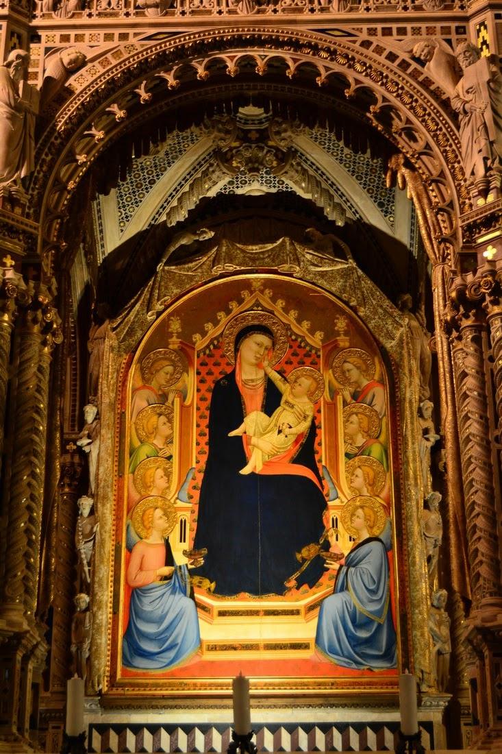 Vierge à l'enfant - Bernardo Daddi
