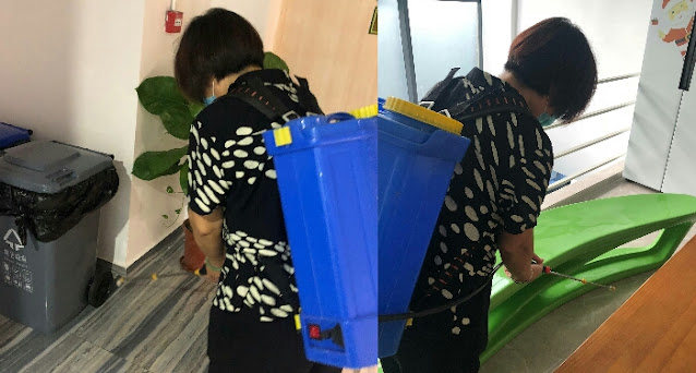GNZ48 cleaning member dormitary