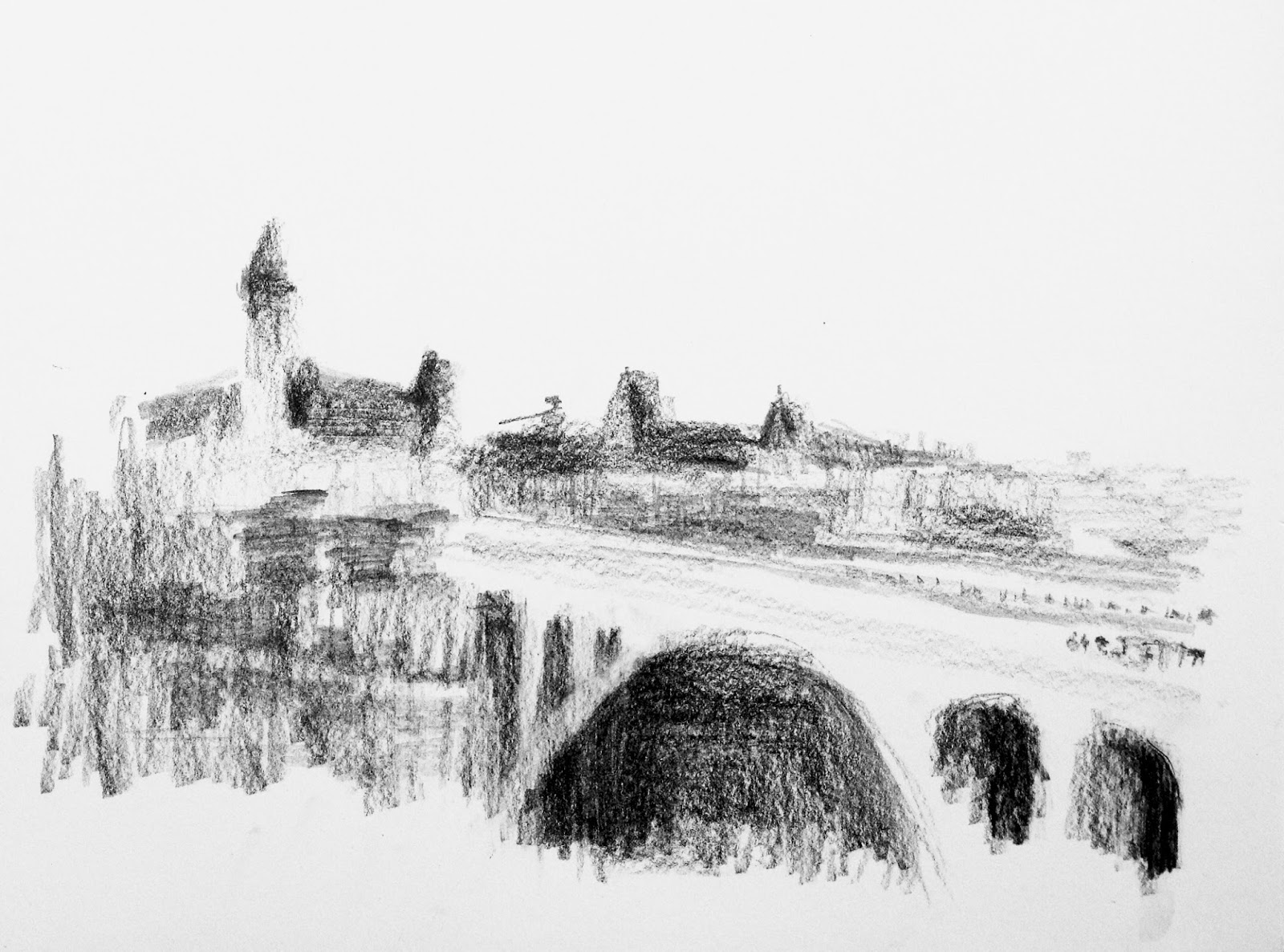 Drawing With No Lines : Urban sketchers luxembourg: city and countryside in one sketching