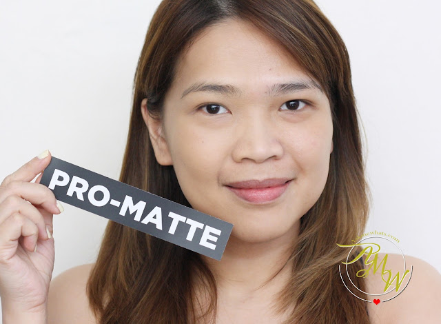 a photo of amw askmewhats nikki tiu wearing L'Oreal Infallible Pro-Matte 24HR Foundation 105 Natural Beige