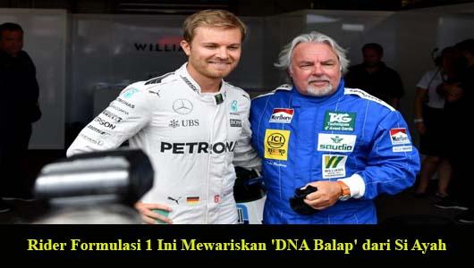 Rider Formulasi 1 Ini Mewariskan 'DNA Balap' dari Si Ayah