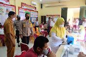 Polres Tanjung Balai Vaksinasi 42 Lansia