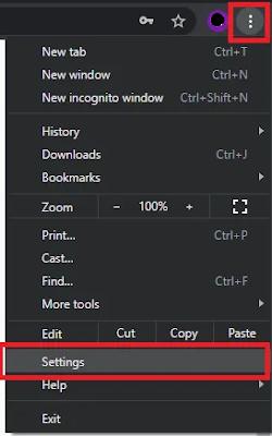 Cara Disable Pop-Up Save Password di Chrome