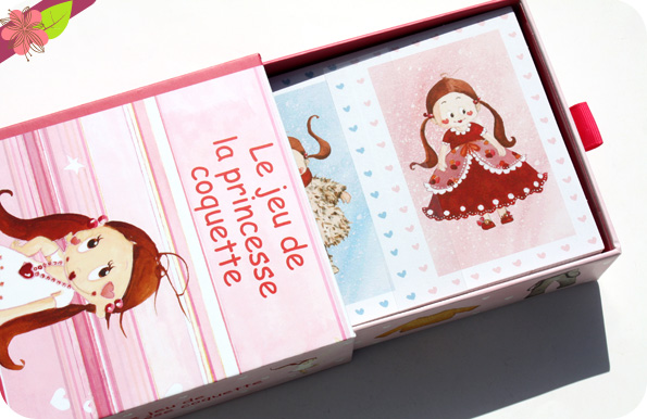 Le jeu de la princesse coquette - l'école des loisirs