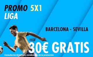 suertia promocion Barcelona vs Sevilla 6-10-2019