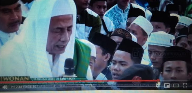 Kliwonan Habib Luthfi bin Yahya Dihadiri Ribuan Orang, Tak Jaga Jarak, Tak Pakai Masker