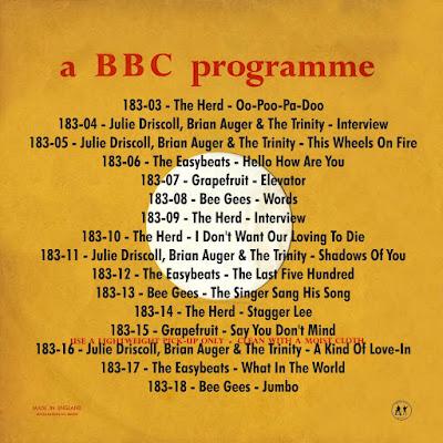 BBC Transcription Services Top Of The Pops Vol.183