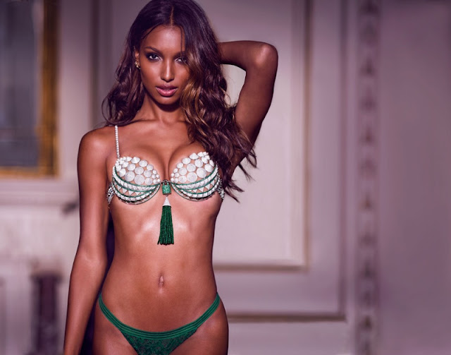 Jasmine Tookes to wear the Victoria's Secret Fantasy Bra Latest