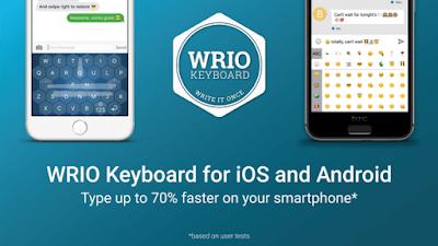 WRIO Keyboard Apk Terbaru