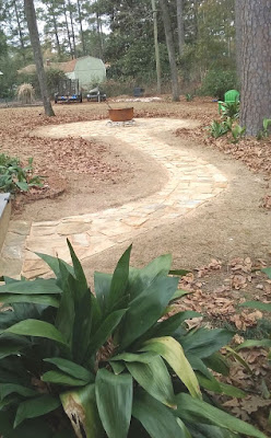 Fire Pit Project - After