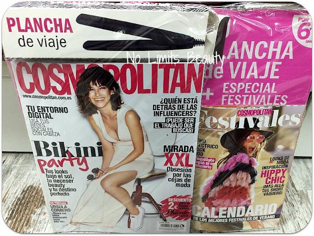 Regalos Revistas Junio 2016 - Cosmopolitan