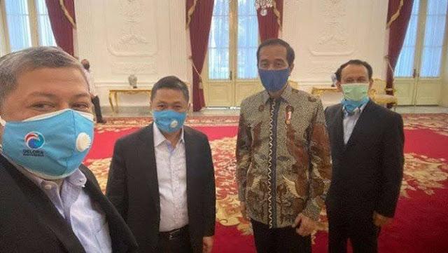Fahri Sebut Berat Badan Jokowi Turun 3 Kg Mikirin Keadaan, Said Didu: Ada Jubir Baru?
