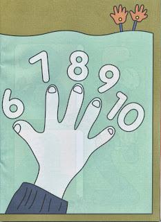 Conte quantos dedos tem as suas mãos