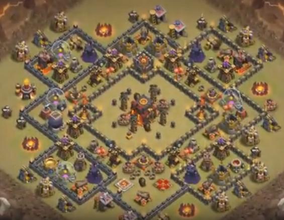 Base Th 10 War Terbaru Dengan Bomb Tower Clashers Blog