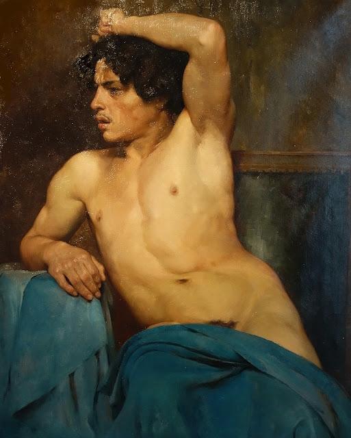 Academic Study (19th century)  Edouard Joseph Dantan (French, 1848-1897)  Oil on canvas