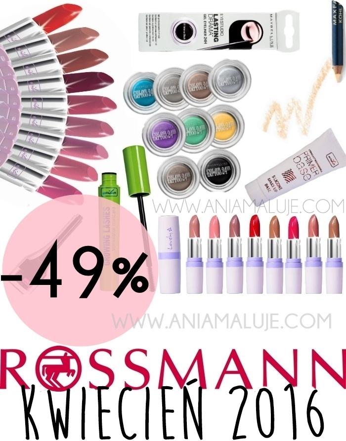 -49% rossmann kwiecień 2016