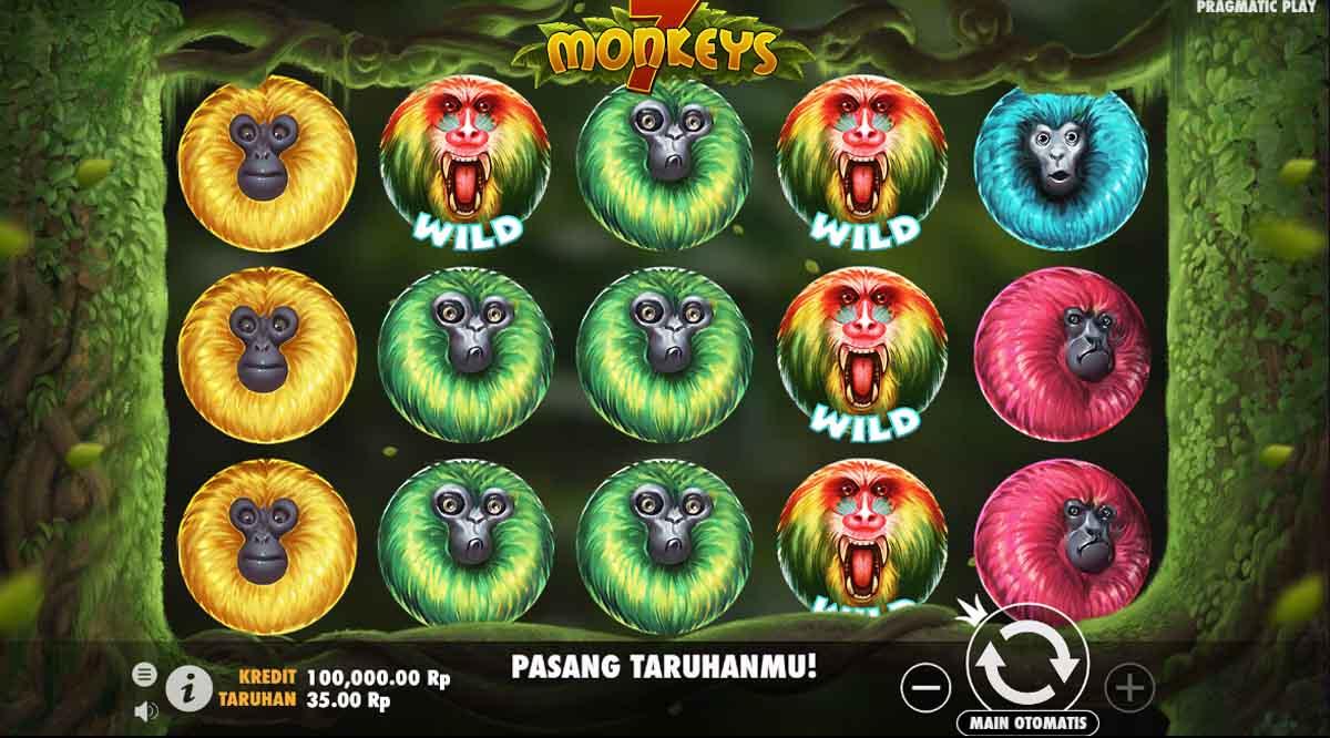 7 Monkeys - Slotpragmatic