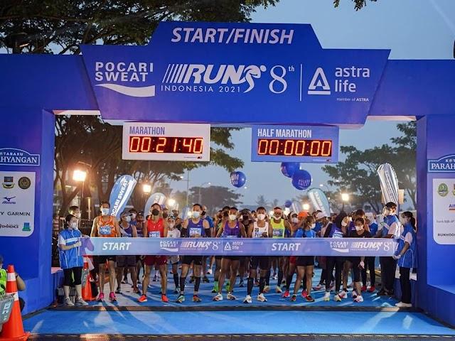 Pocari Sweat Run 2021 Event Olahraga dengan Konsep Hybrid Terbesar Pertama di Indonesia