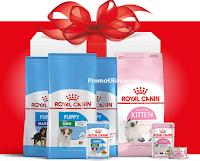 Logo Royal Canin: vinci 50 forniture annuali di alimenti per il tuo cane o gatto