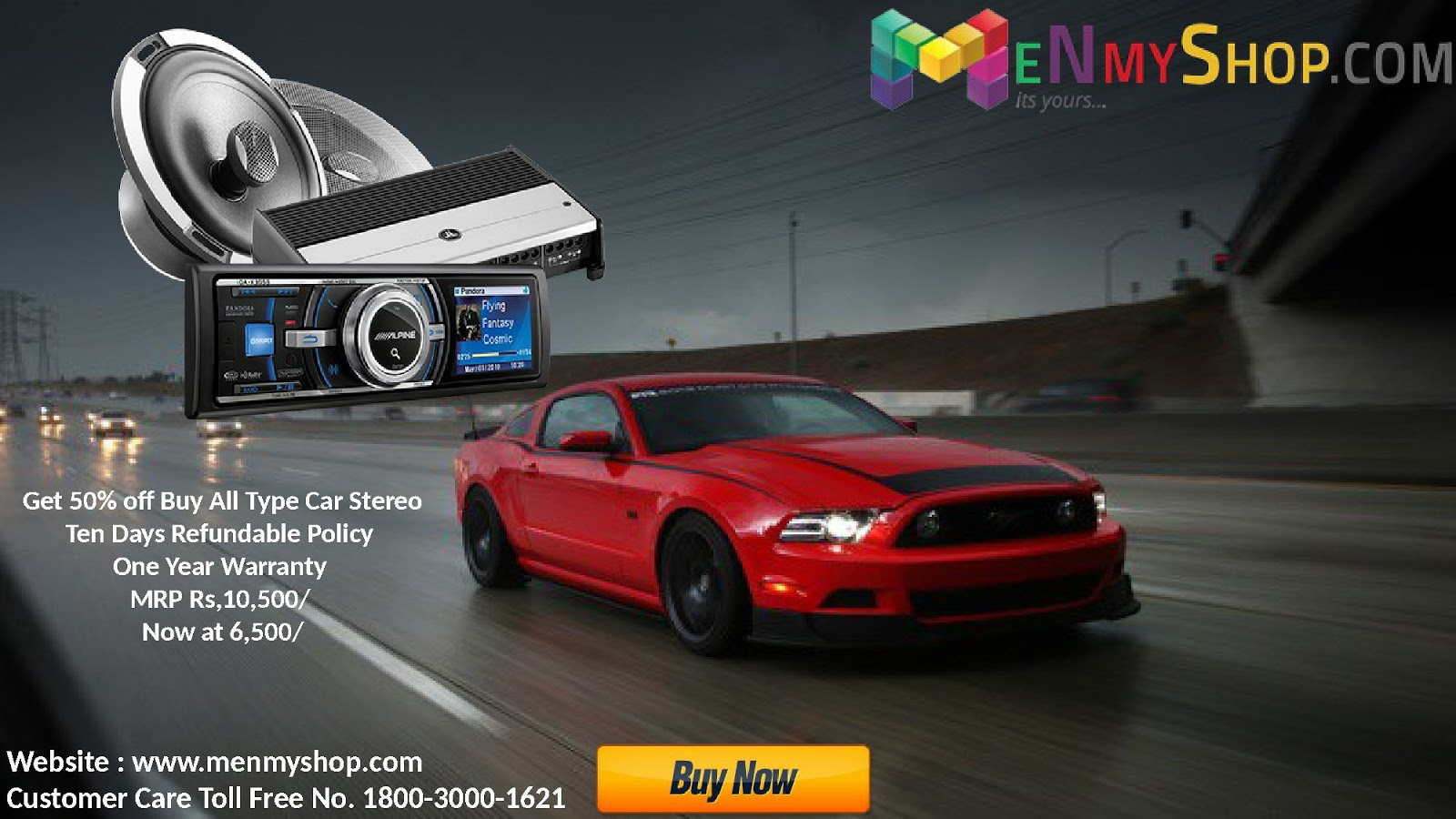Buy Car Accessories Online Shop at 50% Discounted Price