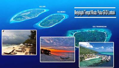 Menjelajahi Tempat Wisata  Pulau Gili Di Lombok