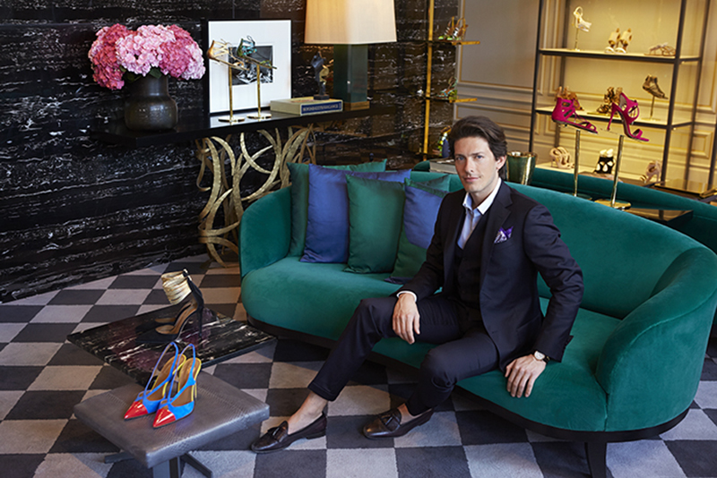 Edgardo Osorio Interview Aquazzura New York
