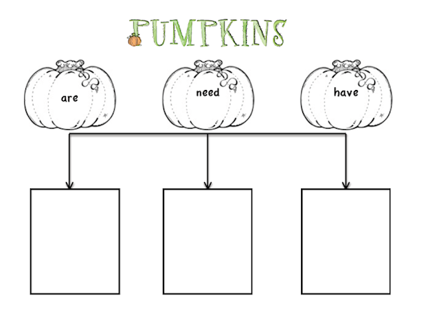 Pumpkin tree map freebie