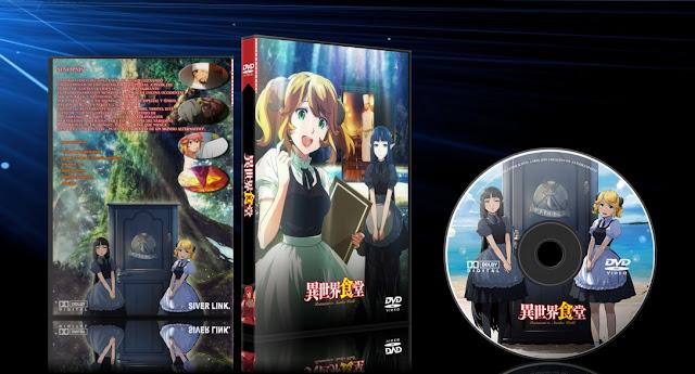 Isekai Shokudou | Cover DVD |