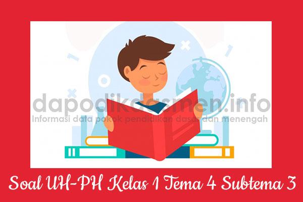 Soal UH PH Kelas 1 Tema 4 Subtema 3 Kurikulum 2013, Soal PH / UH Kelas 1 Tema 4 Subtema 3 Kurikulum 2013 Revisi Terbaru, Soal Tematik Kelas 1 Tema 4 K13 Subtema 3, Soal Ulangan Harian ( UH ) Kelas 1 Semester 1, Soal Penilaian Harian ( PH ) Kelas 1 Tema 4 Subtema 3