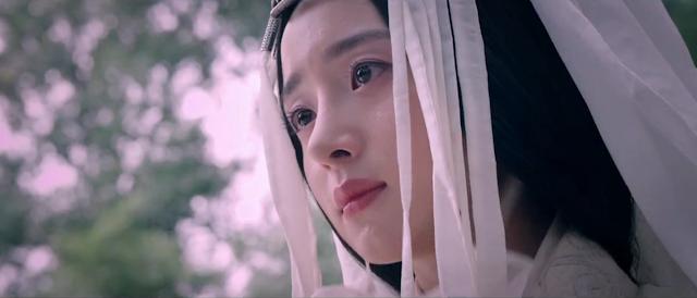 Qin's Moon drama stills, chinese wuxia starring Michelle Chen, Lu Yi, Jiang Jin Fu