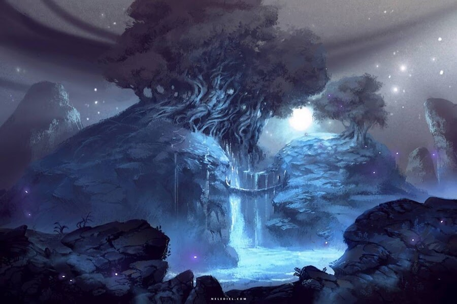 09-The-enchanted-waterfall-Nele-Diel-www-designstack-co