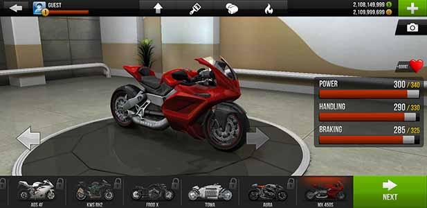 Download Traffic Rider Mod APK Unlimited Money