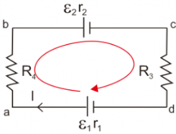 Peraturan Rangkaian Dengan Satu Loop