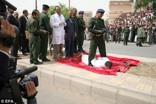 Saat-Saat Terakhir Sebelum Perogol Dijatuhkan Hukuman Tembak Di Kepala
