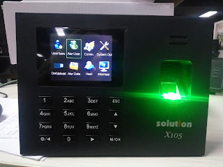 Cara Input User Baru Fingerprint