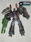 (Bs. 95) Optimus Prime Transformers Interchange (Réplica)