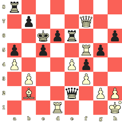 Les Blancs jouent et matent en 4 coups - Vassily Smyslov vs Mario Bertok, Zagreb, 1955