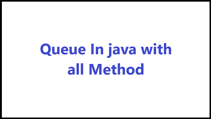 Queue in java using array - Algomentor