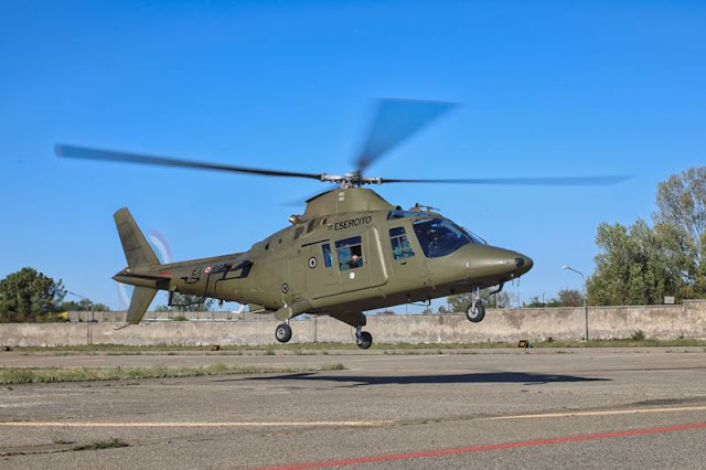 Italian Army says goodbye to A109 helicopter