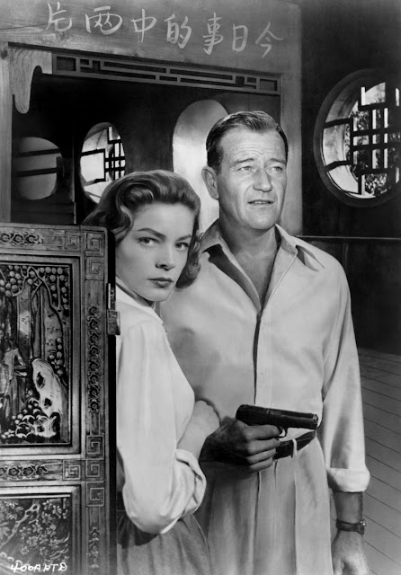 1955. Lauren Bacall, John Wayne - Blood Alley