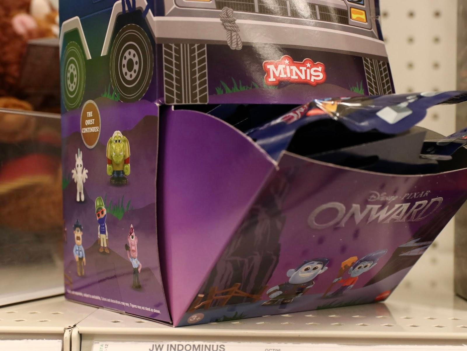 Pixar onward toys minis mattel
