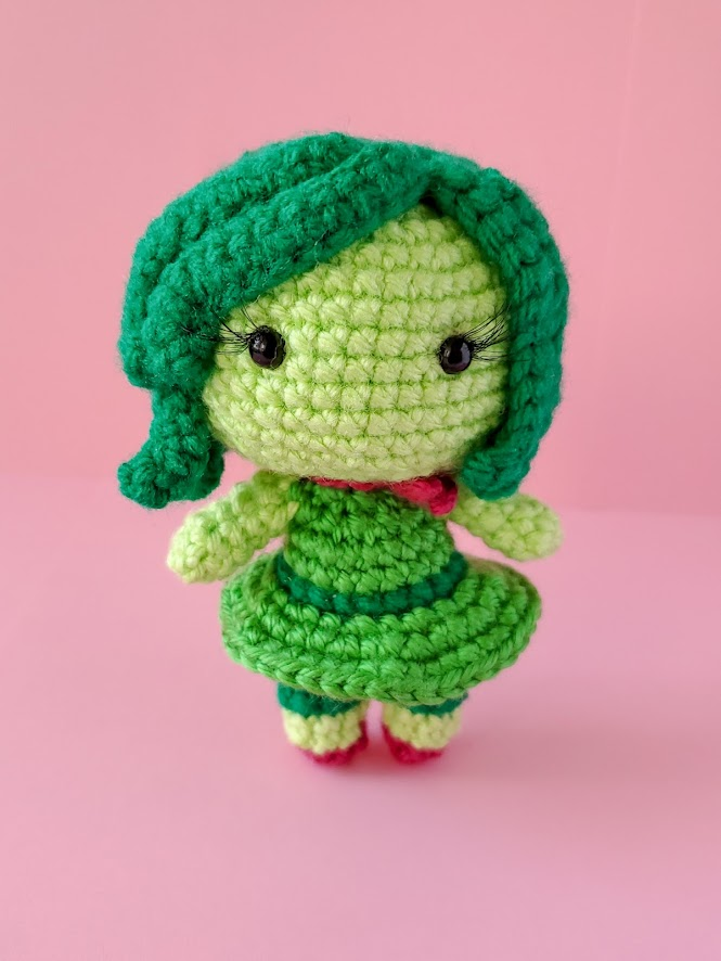 Disgust Amigurumi Doll from Pixar's Inside Out