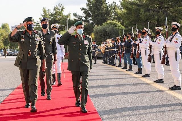 Στην Ελλάδα ο Αρχηγός Γενικού Επιτελείου Ενόπλων Δυνάμεων των ΗΑΕ (18 ΦΩΤΟ)