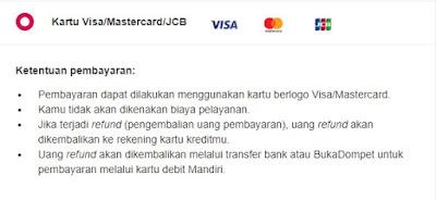Metode pembayaran Cicilan 0% Kartu Kredit di Bukalapak