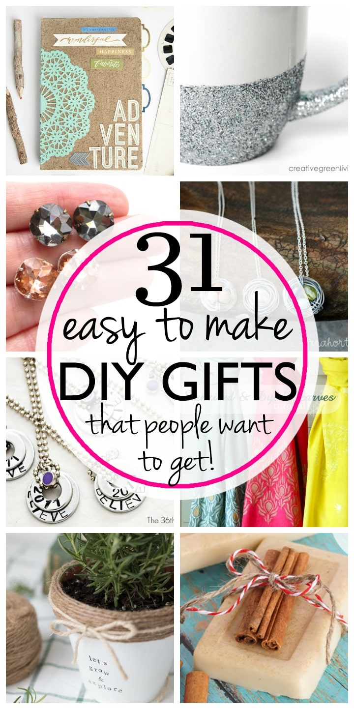 Easy last minute DIY gifts that aren't hard to make and that people actually want!