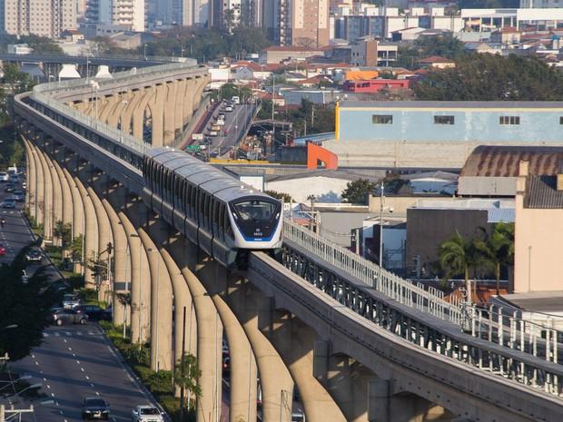 FIQUE ATENTO: Linha 15-Prata do monotrilho terá horário de operação diferenciado neste final de semana