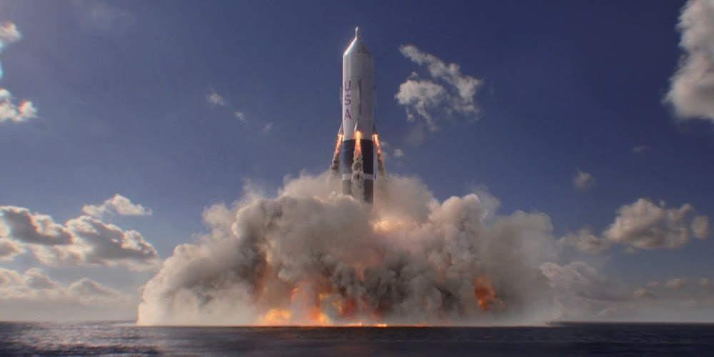 Sea Dragon rocket launch in season 1 of 'For All Mankind'