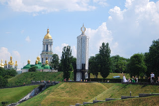 Stalin mató de hambre a siete millones de ucranianos. Monumento conmemorativo